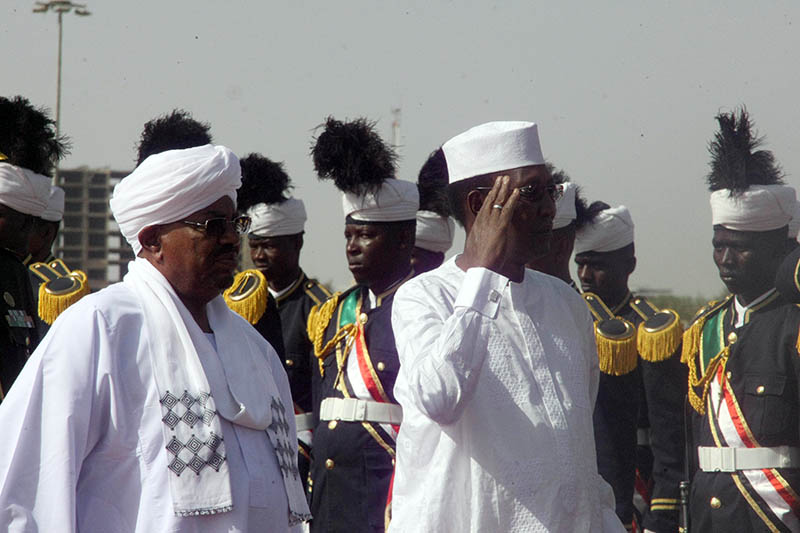 Chadian President Arrives in West Darfur State