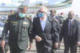 نائب قائد القيادة العسكرية الأمريكية لأفريقيا يصل البلاد