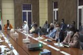 Finance Minister briefs ambassadors of Sudan partners on Budget
