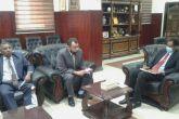 وزير الزراعة يلتقي وفد الصندوق الدولي للتنمية الزراعية (إيفاد)