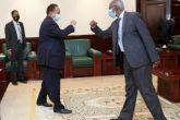 Hamdouk Receives Written Message from Eritrean President