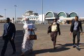 مريم الصادق تتوجه إلى جوبا في أول محطة خارجية