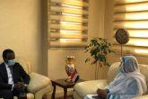 وزيرة الخارجية تلتقي المبعوث الخاص للأمم المتحدة للقرن الأفريقي