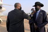 برهان  يعود بعد زيارة ليوغندا وجنوب السودان