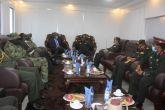 رئيس هيئة الأركان يلتقي بنائب وزير دفاع جنوب السودان
