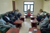 البنك الزراعي  يبحث عملية إنشاء صوامع غلال في دارفور