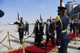 Hamdouk Returns from Cairo