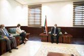 حمدوك يلتقي بوفد منظمة الصحة العالمية