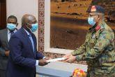 Lt. Général Jabir rencontre le Ministre Angolais des AE