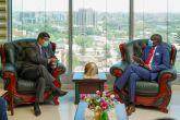 وزير العدل يلتقي سفير ماليزيا بالسودان