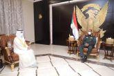 Al-Burhan meets UAE Ambassador