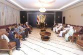 البرهان :يطلع على مبادرةكتلةالمشروع القومي لجمع الصف الوطني