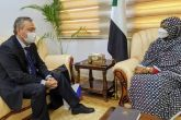 Foreign Minister Receives Ambassador of Russia
