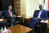 السودان يدعو الاتحاد الاوربي لدفع مفاوضات سد النهضة