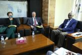 Minister of Irrigation meets US Charge d' Affaires