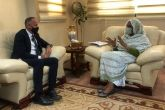 FM Meets UNHCR Representative in Sudan