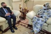 Foreign Minister Meets US Envoy for the Horn of Africa