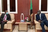 Dr. Ibrahim meets Ethiopian Ambassador