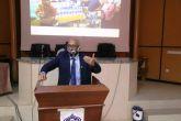 مدير جامعة السودان  يخاطب منسوبي الخدمة الوطنية