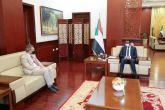 Daglo and Perthes Discuss Establishment of Joint Peacekeeping Forces