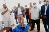 وزير الصحة الإتحادي يختتم زيارته لولاية الجزيرة