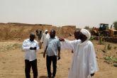 تنفيذي امدرمان يطمئن على تقوية السدود والتروس النيلية