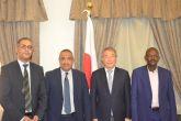 رئيس أصحاب العمل والسفير الياباني يبحثان توسيع الإستثمارات اليابانية بالسودان