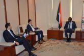وزير الطاقة يبحث مع شركة فيديسيا الإماراتية الاستثمار في النفط