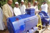 طلمبة مياه جديدة لمحطة مياه نوري