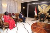 Al-Burhan receives Vice President of South Sudan