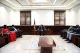 حمدوك يبحث مع نائب رئيس جنوب السودان تعزيز سبل التعاون