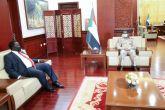 النائب الأول يبحث مسار العلاقات الثنائية مع جمهورية جنوب السودان