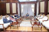 التعايشي يؤكد لمبعوثي الترويكا حرص الحكومة على إكمال عملية السلام