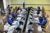 وزيرة الخارجية تلتقي بوزير الموارد الطبيعية والبيئةبجمهورية روسيا الاتحادية