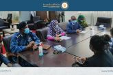The FM Assistant Undersecretary for political Affairs Meets UN team