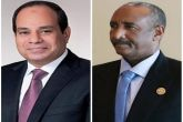 رئيس مجلس السيادة يتلقى إتصالا هاتفيا من الرئيس المصري