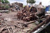 أمطار وسيول تدمر منازل المواطنين بقرية أبو رخم بمحلية المفازة