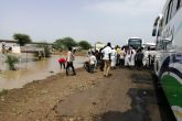 قطع الطريق القومى الرابط الخرطوم بورتسودان بمحلية الفاو