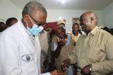 الجنرال خميس يدشن المخيم المجاني لمؤسسسة البصر الخيرية