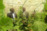 وزير الشباب يقف على الحاضنات الشبابية بهيئة البحوث الزراعية