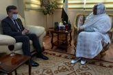 وزيرة الخارجية تلتقي السفير الإسباني بمناسبة إنتهاء مهامه بالسودان