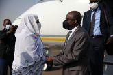 وزير خارجية الكنغو الديمقراطية يصل الخرطوم
