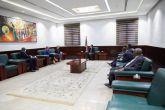 حمدوك يلتقي وفد المعهد الأمريكي للسلام ومركز إفريقيا للدراسات
