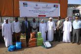 مؤسسة محمد بن راشد  تسيّر قافلة مساعدات للنيل الأبيض