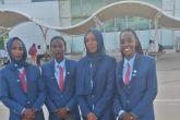 طاقم تحكيم نسائي سوداني لتصفيات كأس العالم تحت ٢٠ سنة