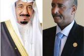 البرهان يبعث ببرقية تهنئة لخادم الحرمين بالعيد الوطني للسعودية