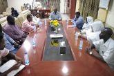 حاكم إقليم النيل الأزرق يلتقي اعضاء تجمع المهنيين بولايته
