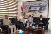 وزير الشؤون الدينية يثمن جهود وزراة الأوقاف والمقدسات الاسلامية بالأردن