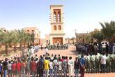 تربويون وقيادات بالتربية يشهدون بداية العام الدراسي بمدينة طيبة التعليميةللأيتام