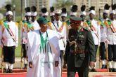 رئيس مجلس السيادة الإنتقالي يتسلم أوراق اعتماد سفيرنيجيريا بالخرطوم